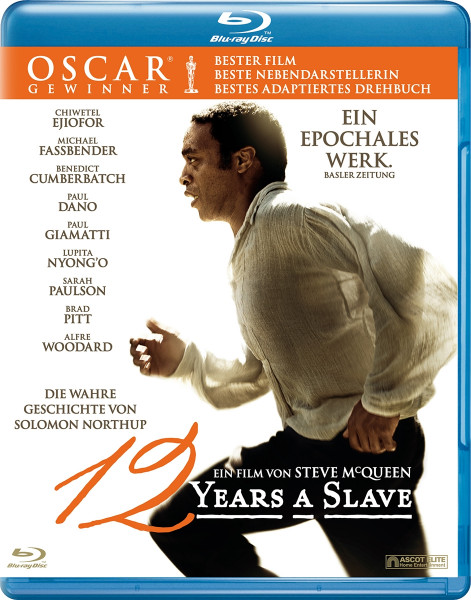 Image of 12 Years a Slave Blu ray