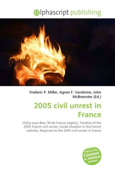 Image of 2005 civil unrest in France