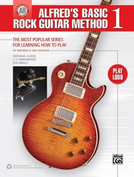 Image of Alfred's Basic Rock Guitar Method 1: The Most Popular Series for Learning How to Play