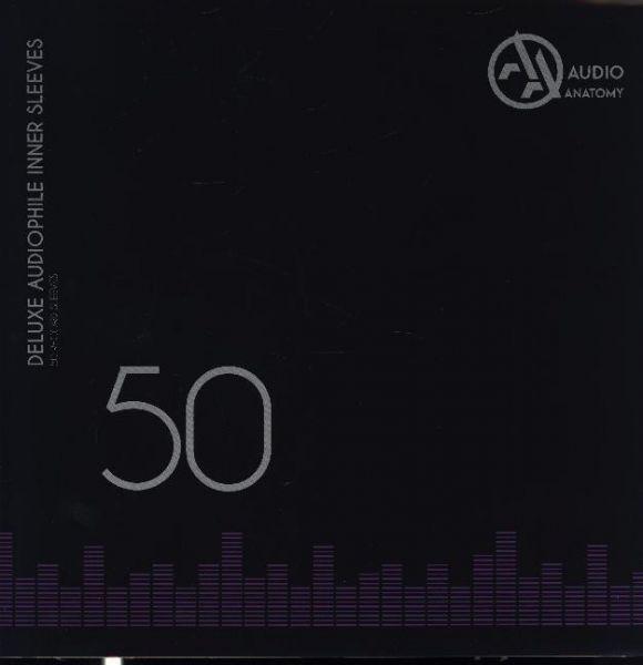 """Image of Deluxe Schallplatten Innenhüllen Antistatisch Weiß 90 gr - 50 Stück: Inner Sleeves - 50 x 12 Deluxe"""""""