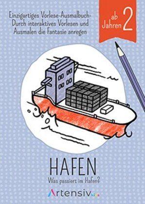 Image of Hafen - Malbuch ab 2 Jahren: Was passiert im Hafen?