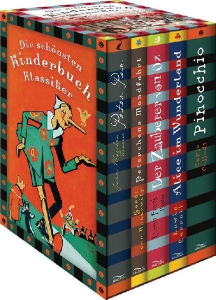 Image of Die schönsten Kinderbuchklassiker - Peter Pan - Peterchens Mondfahrt - Der Zauberer von Oz - Alice i