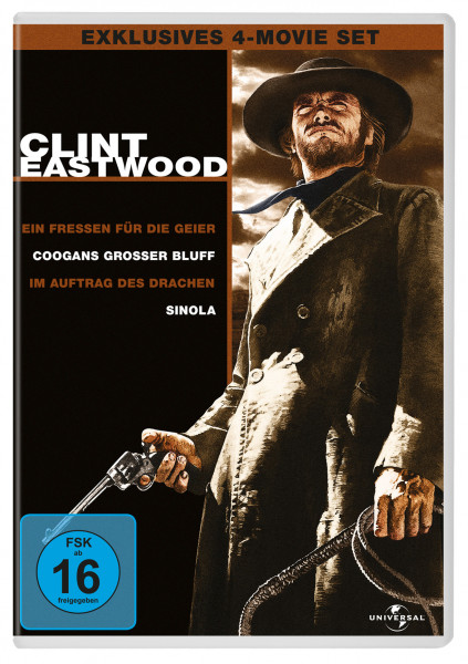 Clint Eastwood Collection 4Er