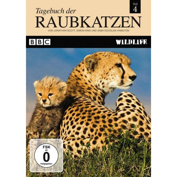 BBC Wildlife: Tagebuch der Raubkatzen (Teil 4)
