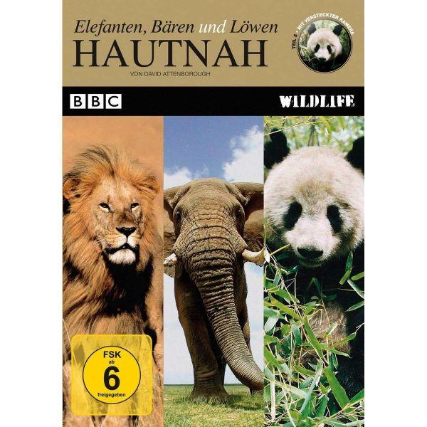 BBC Wildlife: Hautnah - Elefanten, Bären und Löwen (Teil 3)