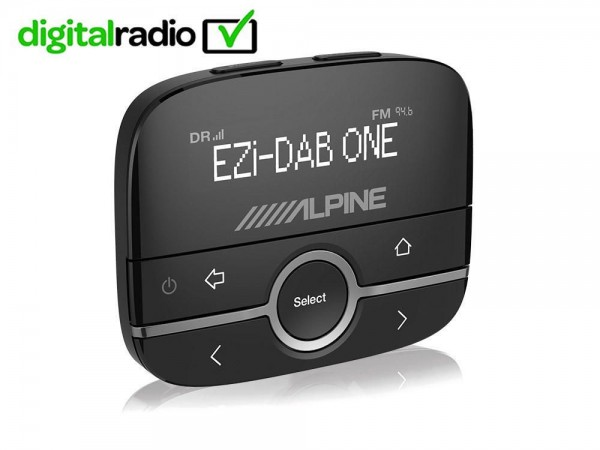 Image of Alpine ADD-On DAB Receiver with BT: