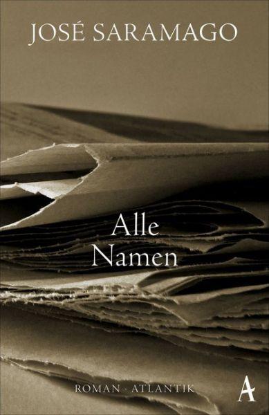 Image of Alle Namen: Roman