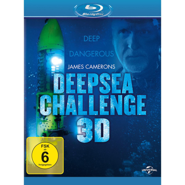 James Cameron Deepsea Challen. 3D
