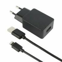 Fontastic MFI Travel Charge SET  5V/1A  Datenkabel für Apple lightning 1 Meter