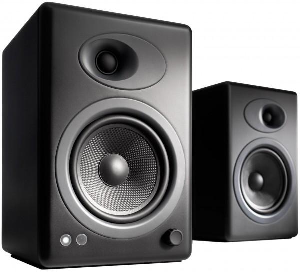 Image of Audioengine A5+ Wireless Paar, Schwarz