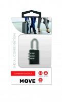 Move Combi Lock, Black