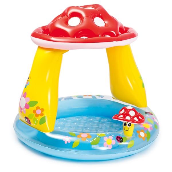 INTEX Pool Baby Pilz 102x89 cm, Inhalt 45 l, ab 1 Jahr