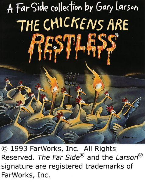 Image of The Chickens Are Restless