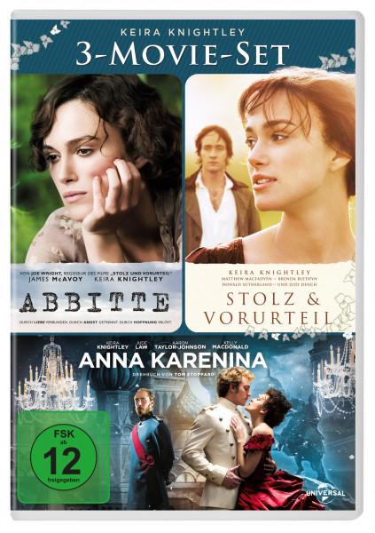 Keira Knightley 3 Movie Set