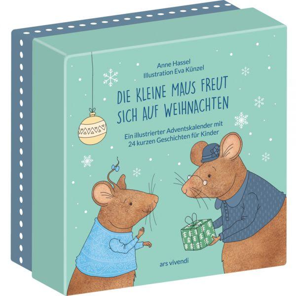 Image of Die kleine Maus freut sich auf Weihnachten (Neuausgabe): Kinder-Adventskalender mit 24 kurzen Geschi
