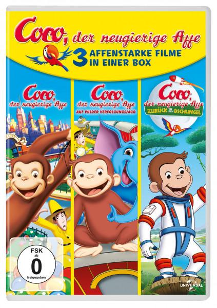 Coco, Der Neugierige Affe 1-3