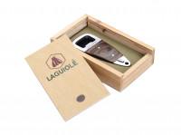 Laguiole Flaschenöffner aus Ebenholz