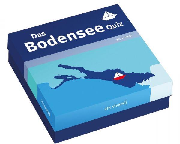 Image of Das Bodensee-Quiz (Spiel): 66 Fragen rund um den Bodensee