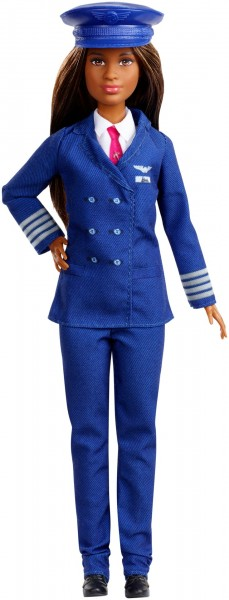 Image of Barbie 60. Jubiläum Karriere-Puppe Pilotin