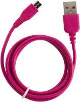PETER JAECKEL Micro-USB Color Datenkabel Purple mit Sync- und Ladefunktion