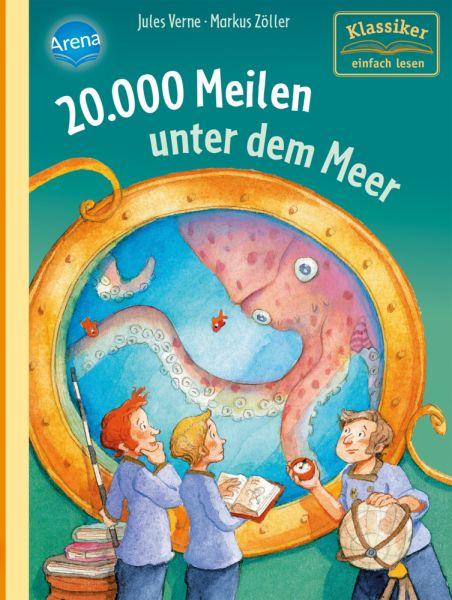 Image of 20.000 Meilen unter dem Meer: Klassiker einfach lesen