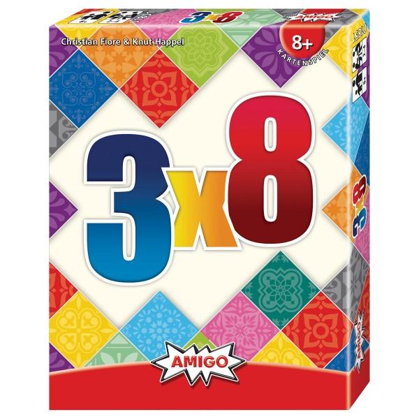 Image of Amigo 3x8 Kartenspiel, d