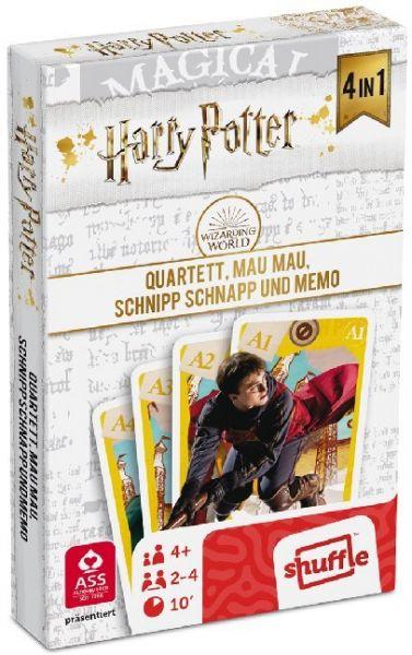 Image of Harry Potter - Quartett 4 in 1 (Spiel)