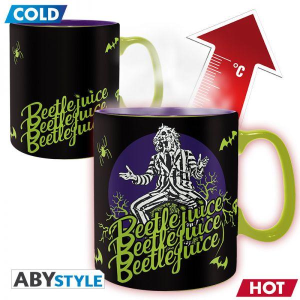 Image of ABYstyle - Beetlejuice Thermoeffekt Tasse