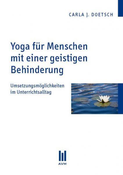 Image of Yoga für Menschen mit einer geistigen Behinderung: Umsetzungsmöglichkeiten im Unterrichtsalltag