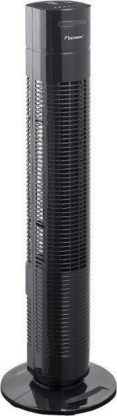 Bestron AFT770ZRC Towerventilator 78cm mit Fernbedienung, schwarz