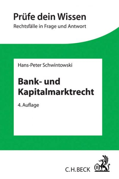 Image of Bank- und Kapitalmarktrecht