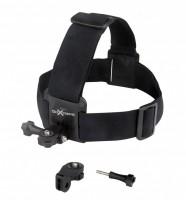 GoXtreme Head Strap Mount Kopf-Gurt-Halterung schwarz
