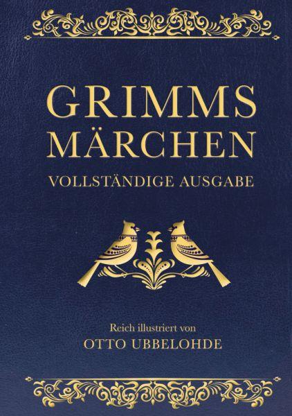 Image of Grimms Märchen - vollständig und illustriert (Cabra-Lederausgabe)