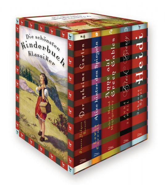 Image of Die schönsten Kinderbuchklassiker (Frances Hodgson Burnett, Der geheime Garten - Lewis Carroll, Alic