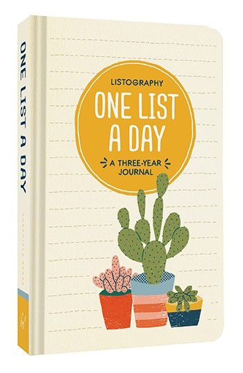 Image of Listography: One List a Day: A Three-Year Journal