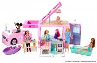 Barbie 3-in-1 Super Abenteuer-Camper mit Zubehör