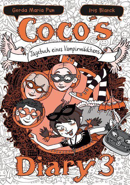 Image of Coco`s Diary - Tagebuch eines Vampirmädchens. Bd.3: Comic Roman für Mädchen