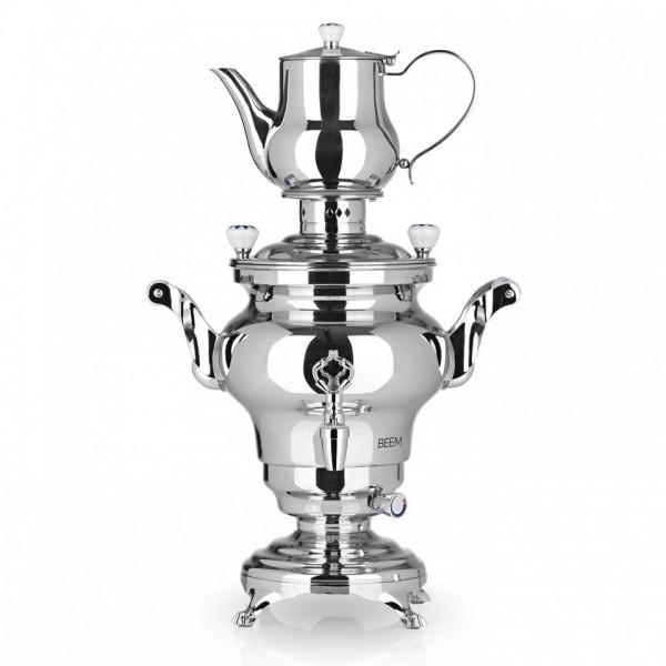 Image of Beem Samowar Odessa III - 3 Liter Wasserb. 1.0 Liter Teekanne 1300 W