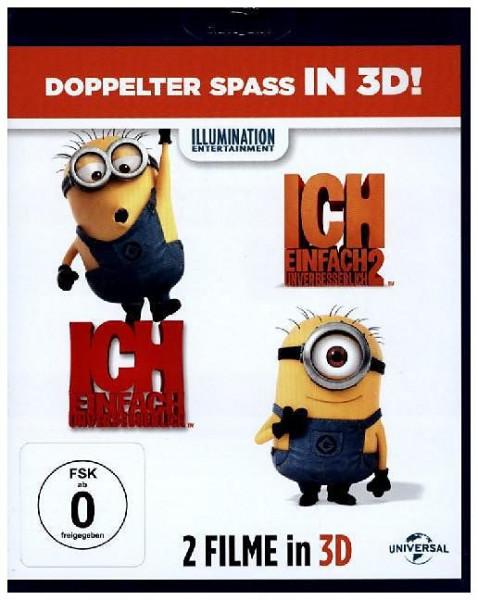 Ich einfach unverbesserlich 1+2 (Blu-ray 3D + Blu-ray)