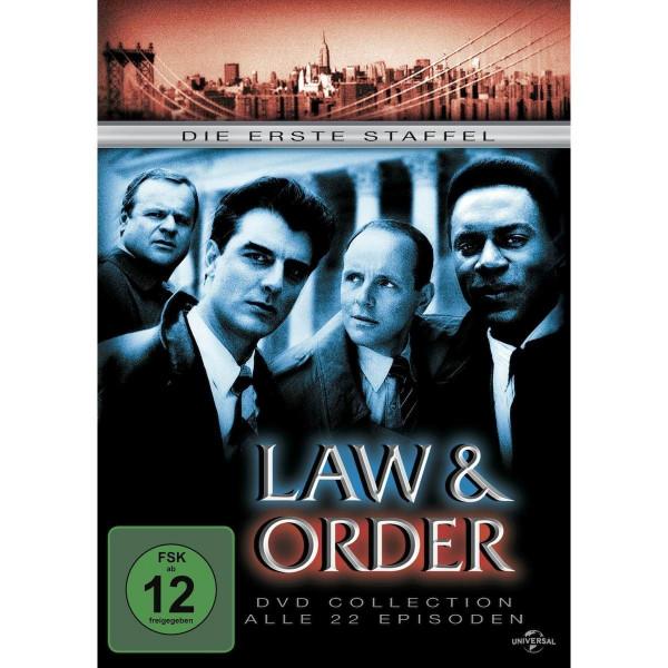 Law & Order 1.Staffel Repl.