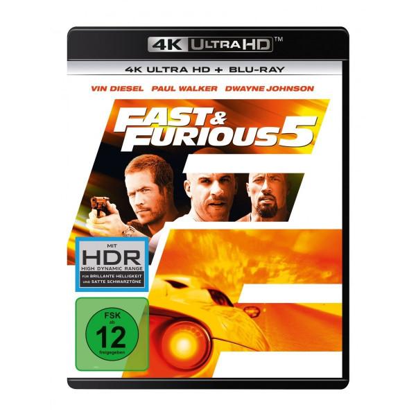 Fast & Furious 5 4K Uhd