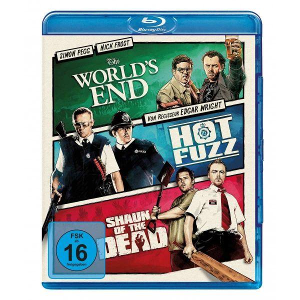 The Worlds End, Hot Fuzz, Shaun
