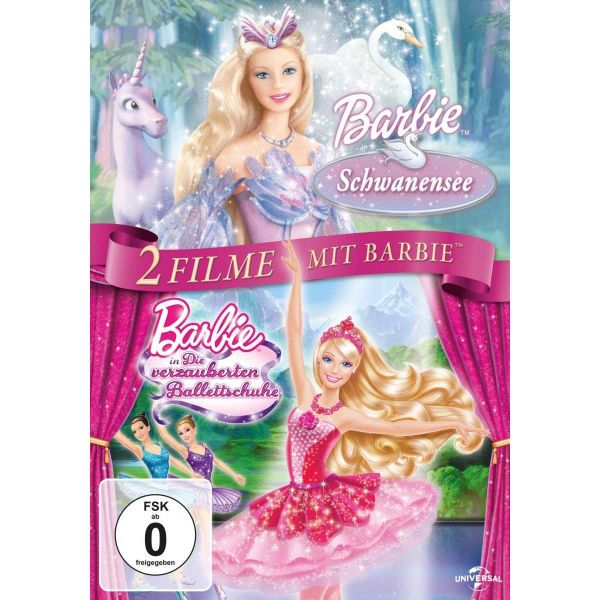 Barbie Schwanensee&Ballettschuhe