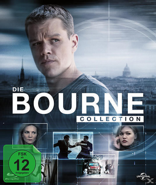 Bourne Collection 1-4 Digibook