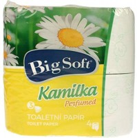 Toilettenpapier 3-lag. 4x160 Bl. Kamilka Big Soft