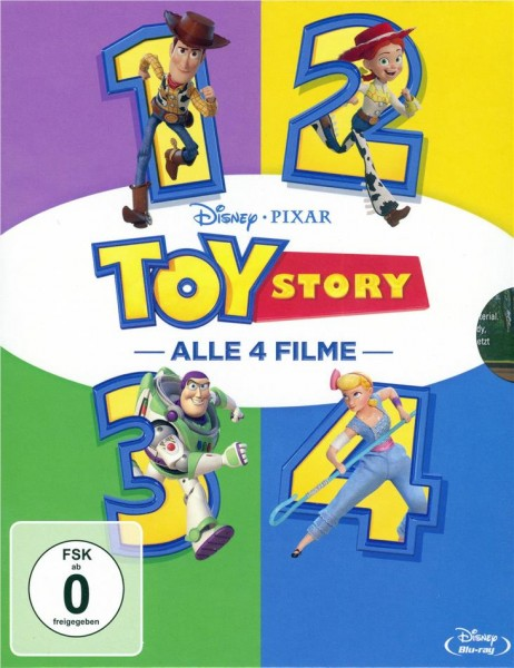 Toy Story 1-4 (4 Movie Coll.)