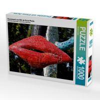 Kussmund von Niki de Saint Phalle (Puzzle)