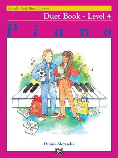 Image of Alfred's Basic Piano Library: Duet Book 4
