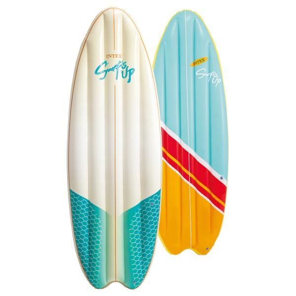 Luftmatratze Surfbrett 2er SET Surf's Up Mats 178x69 cm, ab 14 Jahren