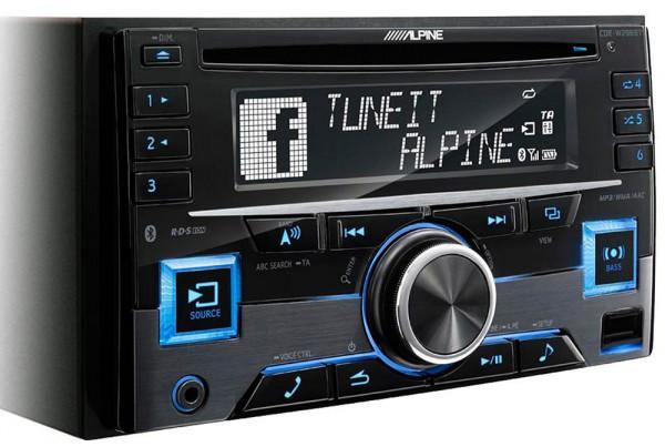 Image of Alpine CDE-W296BT , Autoradio, CD Receiver